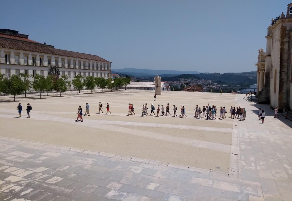 Paço das Escolas da Univ. Coimbra, projeto do arq. Gonçalo Birne 2012.