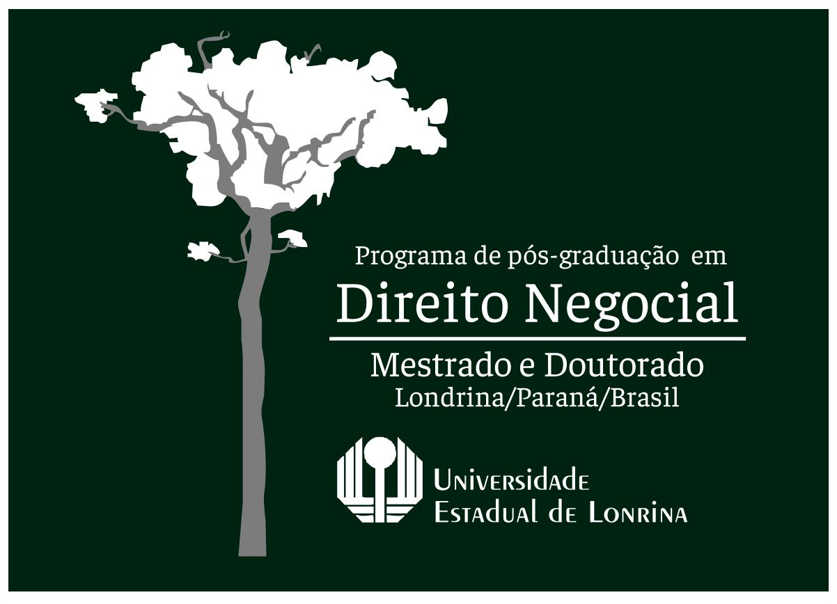 Logo programa de pós graduação em Direito Negocial da UEL